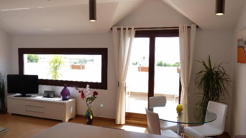 Lounge and Dining Area - Medina Sidonia rental apartment, views, sleeps 4 - Medina-Sidonia - rentals