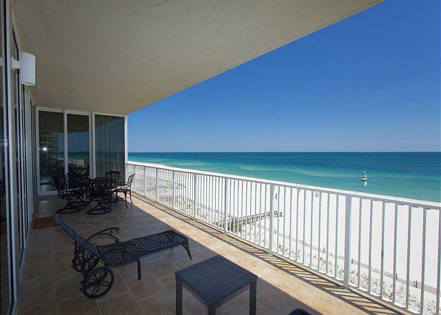 Deck View - Mediterranean 502w -  September Openings - Rent 3 Nights Get 4th Free - Pensacola - rentals