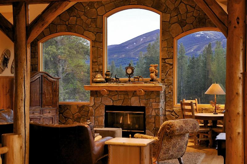 Great Room with amazing views of the ski hill - Moosehead Lodge - Amazing Views from Every Room - Breckenridge - rentals
