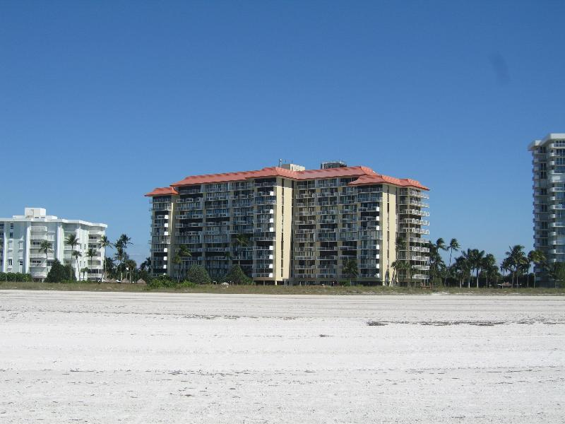 View From the Beach - 2 Bedroom -Beach Front  with beautiful Island view - Marco Island - rentals