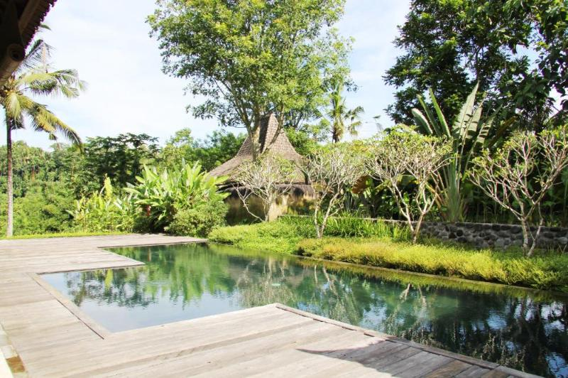The joglo with the pool in the foreground - The Joglo, Pondok Wahyu, Sayan Ridge, Ubud - Ubud - rentals