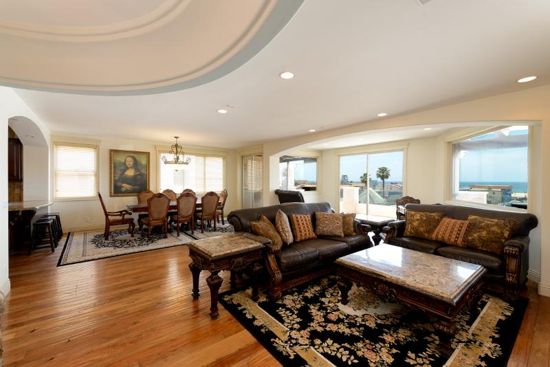 Breath taking views luxury home steps to sand! - Image 1 - Hermosa Beach - rentals