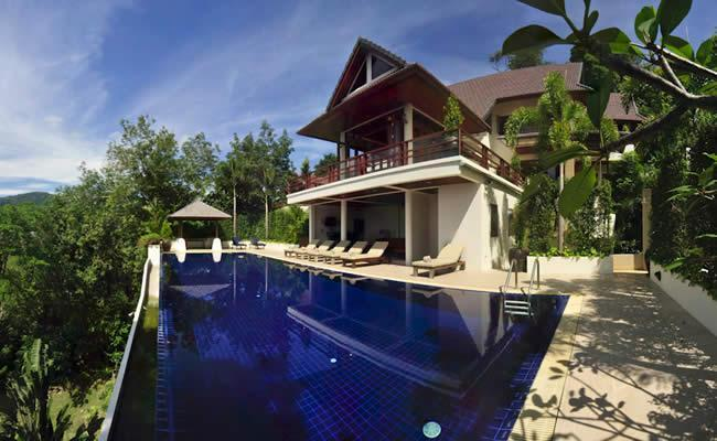 Private 7 Bedroom Sea View Villa In Patong US$800 - Image 1 - Patong - rentals