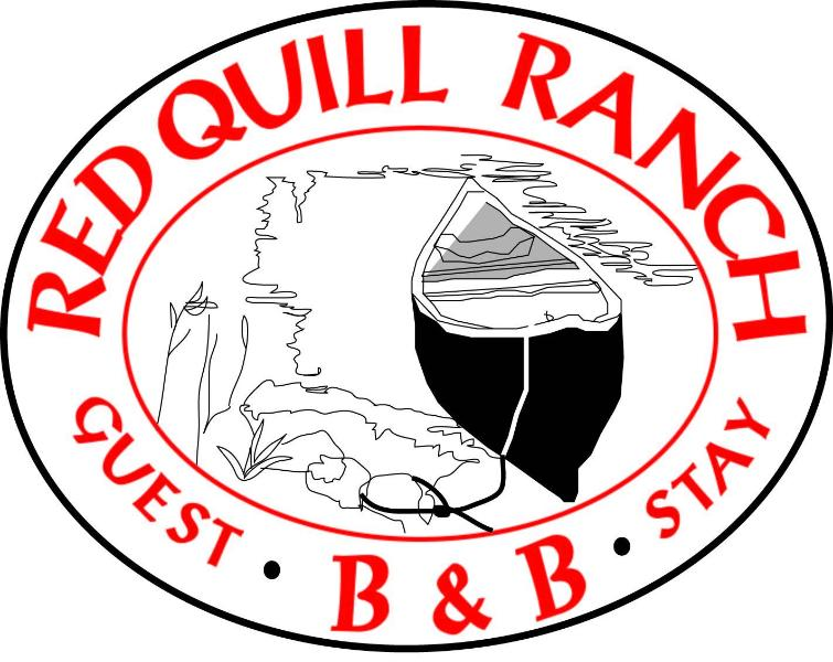 Logo - RED QUILL RANCH STAY B & B - BITTERROOT VALLEY - Missoula - rentals