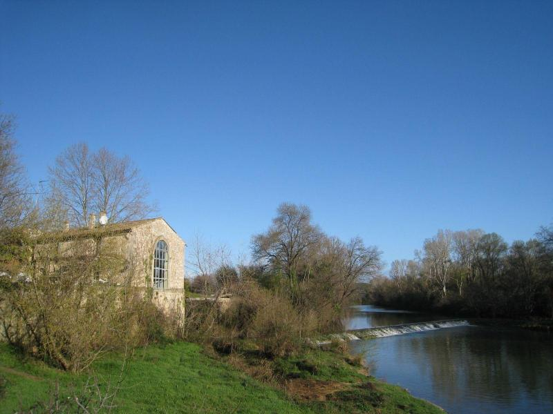 Moulin de Pattus - Old Stone WaterMill in the South of France - Sommieres - rentals