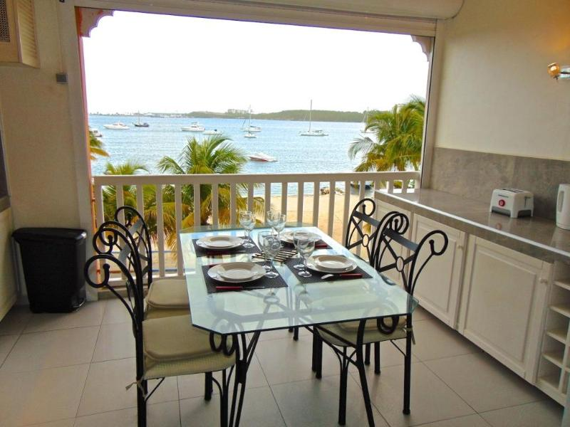 Jasmin Apartment amazing view on Caraibes Lagoon - Image 1 - Nettle Bay - rentals