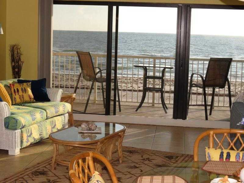 Beachfront Condo on Gulf!  2013 Special Discounts! - Image 1 - Indian Shores - rentals