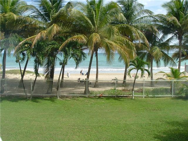 View from the balcony of the studio apt.  - BEACHFRONT STUDIO IN ISLA VERDE - Isla Verde - rentals