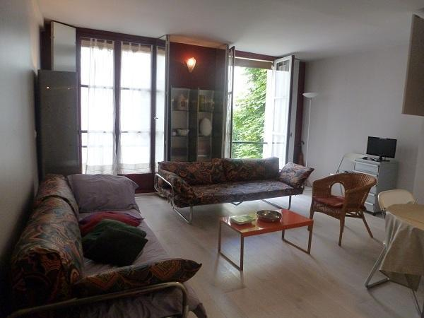 Living room - Perfect One Bedroom Paris Bonaparte Seine River - 6th Arrondissement Luxembourg - rentals