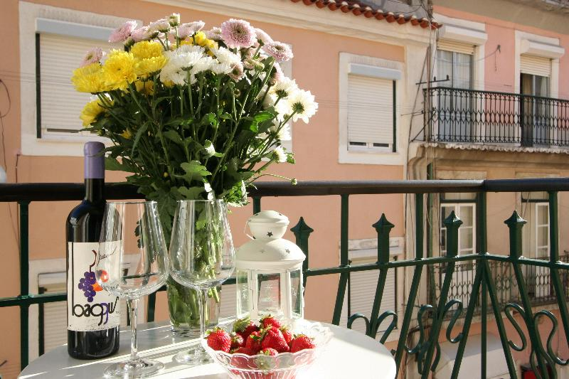 Enjoying a good Portuguese wine! - Apartment in Graça (district historic)  / Lisbon - Lisbon - rentals