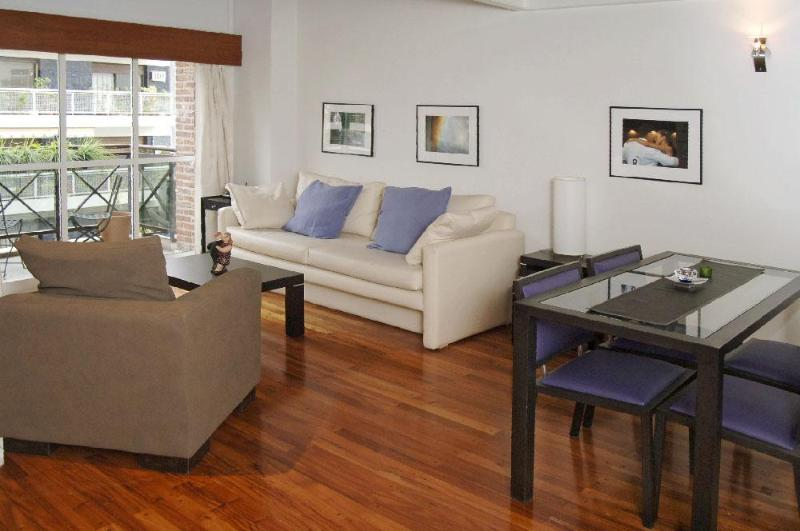 Living Room - Modern Loft on Boulevard in Barrio Norte, Palermo - Buenos Aires - rentals