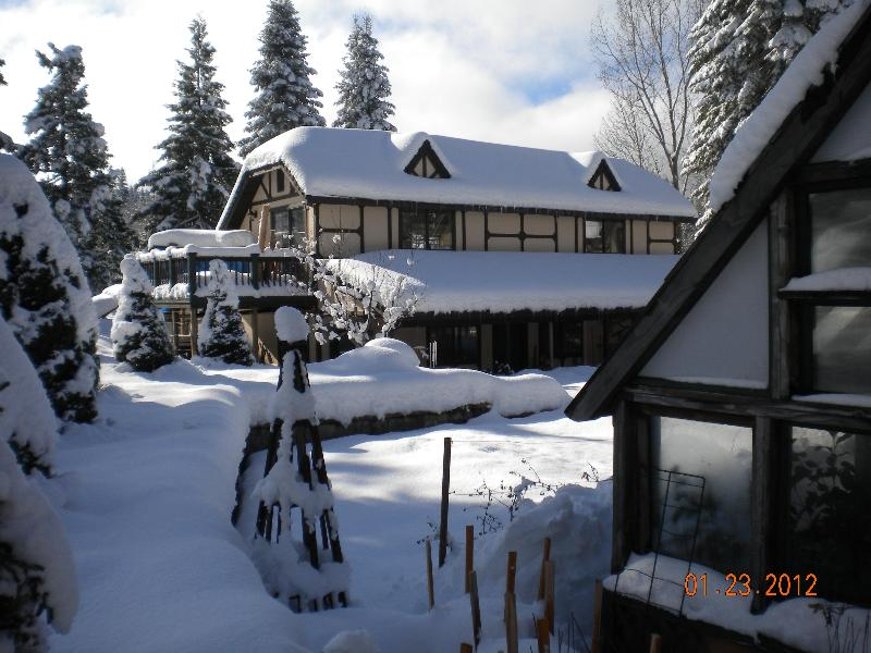 The loft in winter - 1 BR garden loft with Mtn. view in Mt. Shasta CA - Mount Shasta - rentals