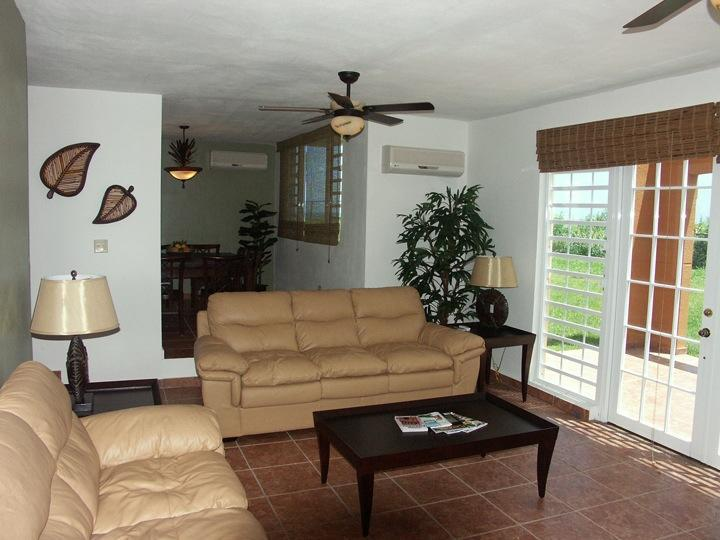 Living Room - Luquillo Mountain Villa with Ocean View - Woodston - rentals