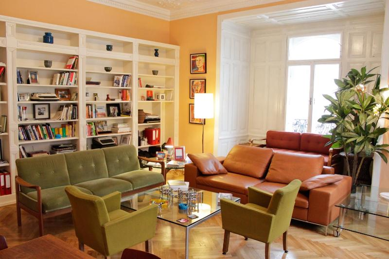 Main living room, take a step into the beautiful atmosphere...  - Historic 15th Century City Center! - Vienna City Center - rentals