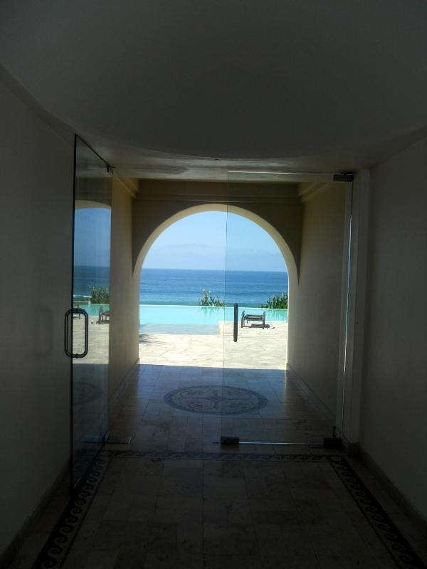 Amenities Entrance  - Amazing Ocean front Condo at Rosarito Beach - Rosarito Beach - rentals