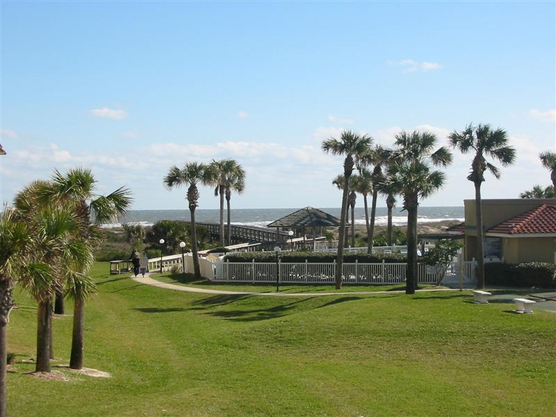 View from balcony, LR and MBR - Beachside Getaway - Beautiful St. Augustine Beach - Saint Augustine Beach - rentals