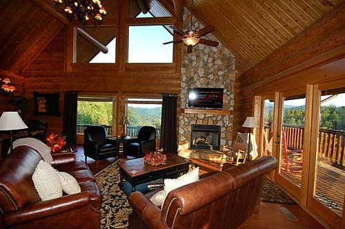4 Bedroom Luxury Cabin with Amazing Mountain Views - Image 1 - Pigeon Forge - rentals