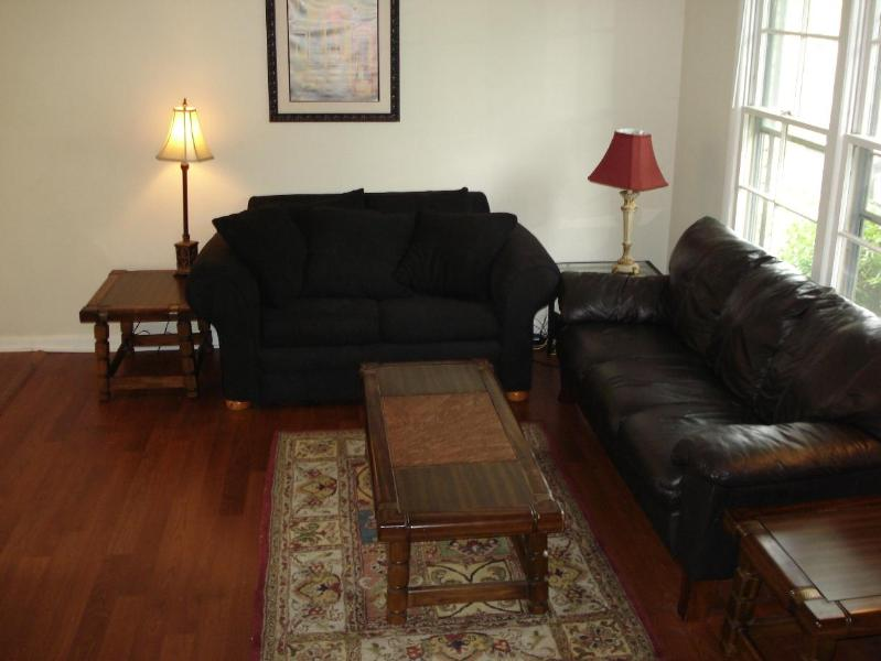 Living Room - Gorgeous Condo in Ultra Safe Area-Mins to Downtown - Nashville - rentals