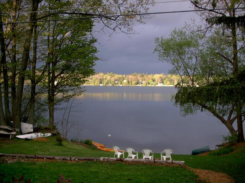 Fall Sunset View - Vacation Lakefront at The Water's Edge - Cazenovia - rentals