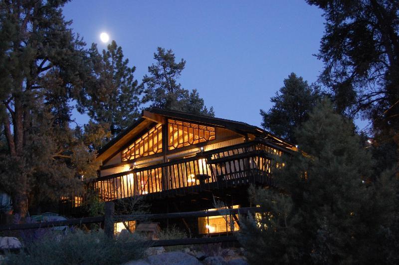 ROCKY TOP - Aglow in the Moonlight - Rocky Top Lodge ~ One-of-a-Kind Cabin in the Pines - Pine Mountain Club - rentals