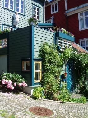 The house outside - AnneHelene's B&B - Bergen - rentals