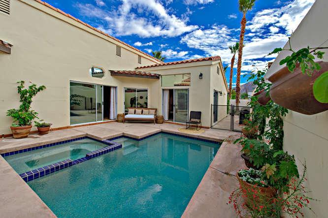 Charming, Private, Saltwater Pool and Spa - Image 1 - La Quinta - rentals