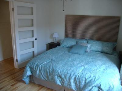 bedroom with the  king size bed - ROSEMONT'S NEST now accepting well behave K9! - Montreal - rentals
