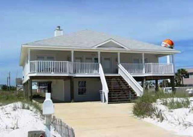This Gulf view home has unobstructed Gulf views and is on a corner lot. - Ariola 1415 - Pensacola Beach - rentals