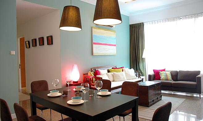 The Cheongsam Theme - 2 Bedroom Apartment - Image 1 - Singapore - rentals