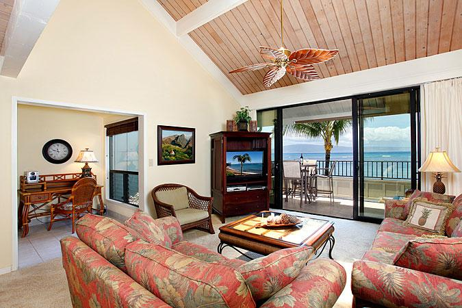 Ocean Front Prime 2 Bedroom Luxury Condo Unit 22 - Image 1 - Kahana - rentals