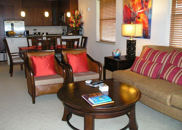 Spacious Two Bedroom, Two Bath Ocean and Golf Course View Villa - Image 1 - Waikoloa - rentals