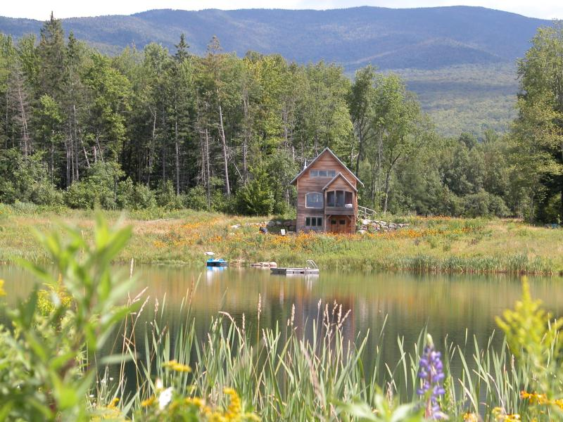 Cabin view from across the pond - Nirvana - Lancaster - rentals
