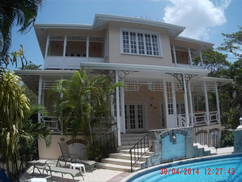 Hawksbill sea view side - Hawksbill.  Tobago Beach Villas, Stonehaven Bay. - Black Rock - rentals