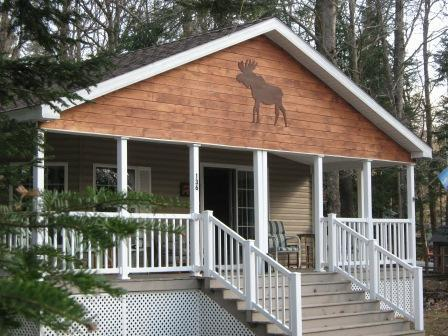 Front of house from street - MooseHaven Old Forge NY - Old Forge - rentals