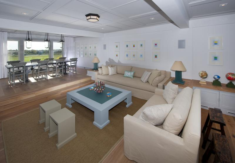 Living and Dining Room - Spectacular Waterfront Townhome - Oyster Pond #25 - Chatham - rentals