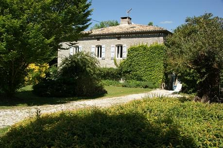 the west front of the Chateau. - Chateau de Cartou, peace and quiet in the Quercy - Durfort-Lacapelette - rentals