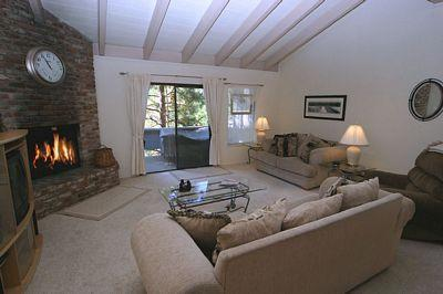 Living Room - Mountain Shadows 240 - Incline Village - rentals