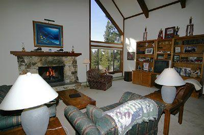 Open Living Room - 692 Palmer Court - Incline Village - rentals