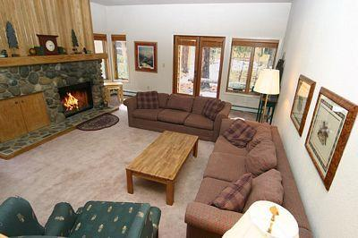 Living Room - McCloud 215 - Incline Village - rentals