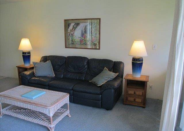Living Room - Turtle Bay 153 East Available for 30 day rentals, please call. - Kahuku - rentals