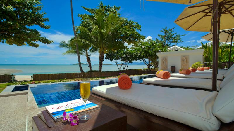 Villa 12 - Great Value Beach Front Villa with Pool - Image 1 - Koh Samui - rentals
