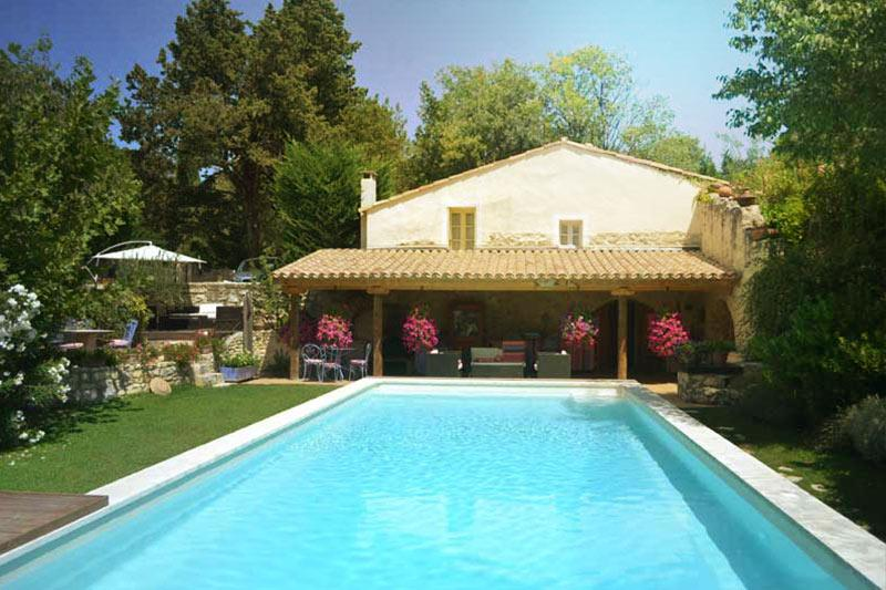 """Sunshine 336 days a year....swimming from April through October each year.  - """"La Tuilerie"""" at PROVENCE PARADISE - Saint-Remy-de-Provence - rentals"""