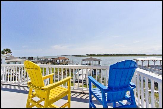 Doc House - Upstairs Balcony with Beautiful Views - Doc House - Tybee Island - rentals