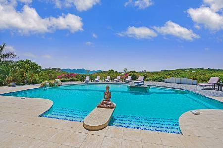 Sol e Luna - Stunning villa with air conditioning, pool & spectacular view - Image 1 - Terres Basses - rentals