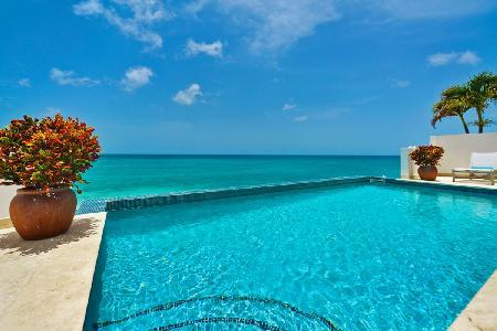 Beachfront Villa in Exclusive Gated Shore Pointe - Etoile de Mer - Image 1 - Cupecoy - rentals