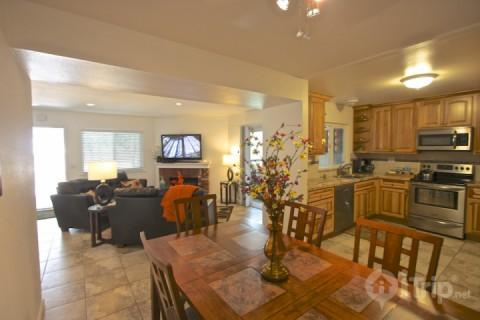 Remodeled kitchen, dining, and living room - Strand Beach Ocean View Condo - Dana Point - rentals