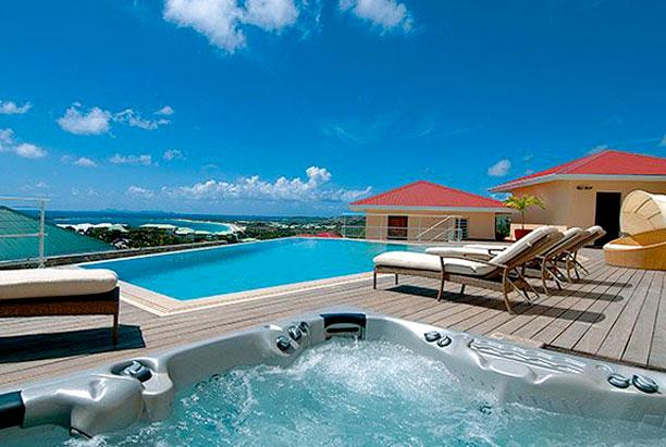 St. Martin Villa 197 An Exquisite, Luxury And Elegant 4 Bedroom, 4 .5 Bathroom Villa Set On The Hill Above Orient Bay. - Image 1 - Cul de Sac - rentals