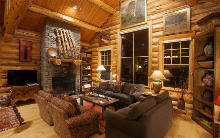 3 bed /2.5 ba- GRANITE RIDGE CABIN 7608 - Image 1 - Teton Village - rentals