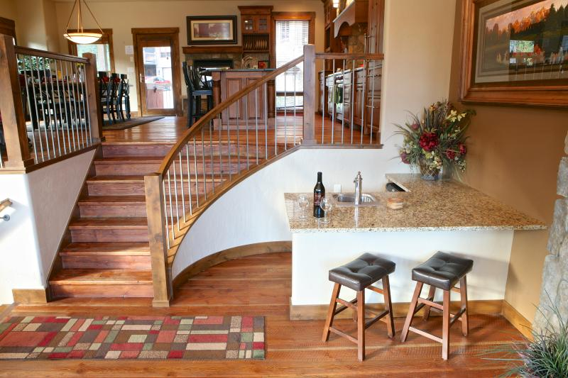 Base Camp 456: Luxurious 3-story Ski In/Ski Out Townhome nestled in the woods of Winter Park - Image 1 - Winter Park - rentals