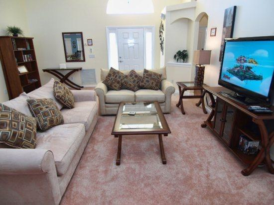Living Area - WNH3P15751BVD 3 Bedroom Holiday Pool Villa with Overlooking View - Clermont - rentals
